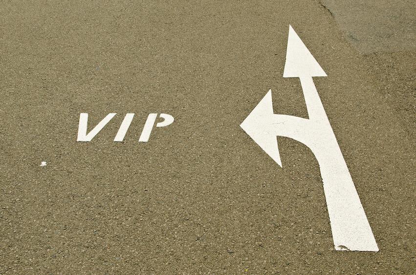 יין המוגש במסגרת הסעות VIP